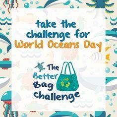 Resíduos plásticos têm sido responsáveis por uma grande parte da poluição dos oceanos. No Dia Mundial dos Oceanos foi lançado o desafio Better Bag Challenge com o objetivo de evitar o uso sacolas plásticas descartáveis por um ano. A equipe #labhidroufrj começa hoje a participar do #betterbagchallenge. Junte-se a nós! Quem aí acha que consegue? #waveforchange #worldoceanday #labhidroufrj #eusoubg