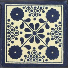 Traditional Mexican Tile - Damasko – Mexican Tile Designs