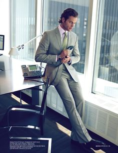 Bright Outlook | Ted Baker one button #suits