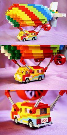 Lego Hippi Van #Eurobricks #PimpMyCamper