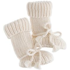 Tane Baby Booties ($58) via Polyvore