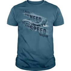 (Males's T-Shirt) Top Gun Need For Speed - Order Now...