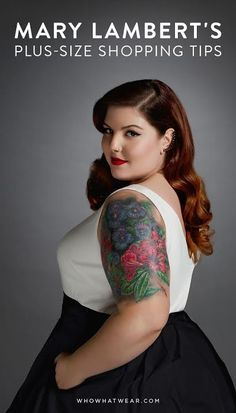 Grammy-nominated singer Mary Lambert shares her plus-size shopping tips.