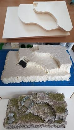 Awesome and Amazing Ideas for Craft Foam: Plateau #navidad