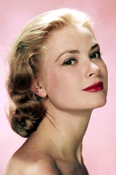 Red lipstick doesn't get much more glamorous than on Grace Kelly—movie star, royal and Hitchcock muse.   - HarpersBAZAAR.com