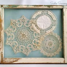 Master Bedroom Evolution and Doily Display