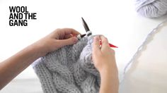 How to knit cables. Wanna learn more? We have all the video tutorials you need over on our Wool and the Gang Wool School page: https://www.woolandthegang.com/videos #woolandthegang #woolschool