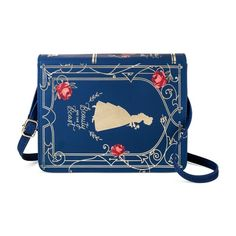 Girls' Disney Beauty and the Beast Book Purse - Blue : $13