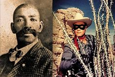 """LONE RANGER was a BLACK MAN name BASS REEVES and yes he did live among the INDIANS ,The Lone Ranger """"could not be cast in that era as a black man, so he was made into a white man with a black mask."""