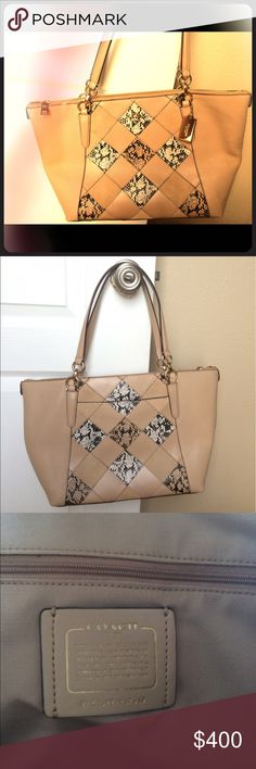 Coach tote Authentic Coach shoulder bag. Never used. No imperfections. No trades please. Coach Bags Totes