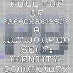identity theory essay