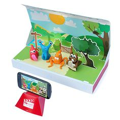 Look what I found at UncommonGoods: Stop Motion Claymation Kit for $20 #uncommongoods