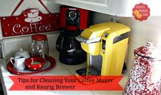 Sunny Simple Life, how to clean coffee maker, how to clean Keurig, #cleaning with vinegar