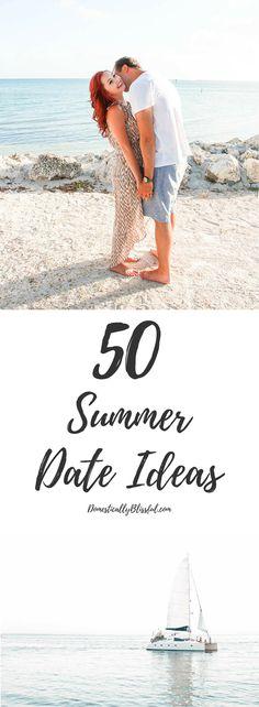 50 Summer Date Ideas to create summer lovin' memories all season long!