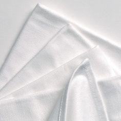 TowelsRus Plain Cotton Tea Towels 100% Cotton, Pack Of 6, White, 50cm x 80cm