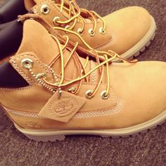 I wish I could at least have a pair of Timberlands boots