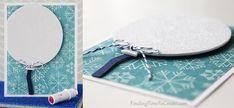 Silhouette Curio Project: Craft Foam Greeting Card - by findingtimetocreate.com for cuttingforbusiness.com