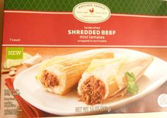 What's Good at Archer Farms?: Archer Farms Shredded Beef Mini Tamales