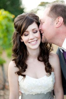 Love the brides hair!