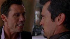 "Burn Notice 3x14 ""Partners in Crime"" - Michael Westen (Jeffrey Donovan) & Damon (Jeffrey Vincent Parise)"