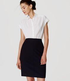 Image of Curvy Custom Stretch Pencil Skirt