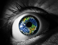 Open your eyes and you can see the world...