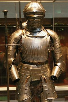 Partial Maximilian armour by THoog, via Flickr