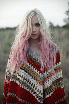 Thinking about an ombre pink hairstyle....