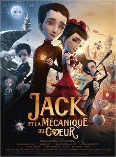 """""""Jack et la mécanique du cœur"""", un film d'animation de Stéphane Berla et Mathias Malzieu avec Mathias Malzieu, Olivia Ruiz, Grand Corps Malade... (02/2014) ♥♥♥♥"""