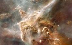 Carina Nebula Gas Pillar