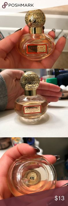Coach poppy perfume 1FL oz. about a quarter missing Coach Other