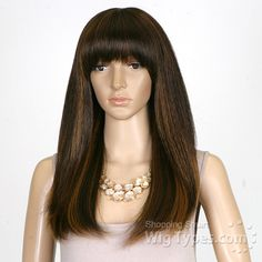 Motown Tress Yaky Texture Synthetic Hair Wig - Y.NYX - WigTypes.com