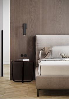 """Simplicity is definitely key for bedroom interior design projects """"White, Gold & Classic Interior Design Project You'll Love"""" Scandinavian Interior Design, Modern Interior Design, Scandinavian Bedroom, Interior Colors, Master Bedroom Design, Home Decor Bedroom, Bedroom Ideas, Master Bedrooms, Modern Bedroom"""