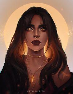 Witch by AstriSjursen.deviantart.com on @DeviantArt