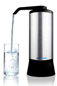 UltraStream advanced water filter removes hundreds of modern contaminants. Gives you safe, alkaline, hydrogen-rich filtered water on tap. Energized Water, Ceramic Water Filter, Hydrogen Production, Alkaline Water Filter, Hydrogen Water, Water Ionizer, Water Systems, Drinking Water, At Least