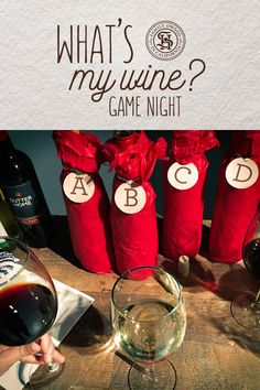 """Uncork the wines, pour out the fun, and play our new Sutter Home """"What's My Wine?"""" game. It's blind wine tasting at its best. Perfect for entertaining friends. Follow our blog to discover more."""