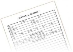 A basic mileage reimbursement form for an employee to