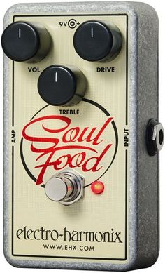 Electro-HarmonixSoul Food Overdrive Guitar Effects Pedal - a klone for a fraction of the price. Wtf? $62?!