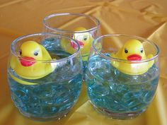 Cathleen M.'s duck-themed baby shower