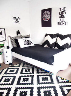 Wonderful Black White Decoration Idea 27