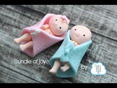 Bundle of Joy fondant toppers by Sugar High, Inc. - YouTube