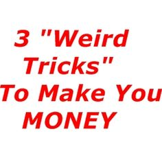 3 Weird Marketing Tricks you Need to Know..