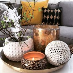 Voluspa candles come in fabulous printed tin containers that look great styled with your other favourite pieces. They burn evenly and the scent fills your home without being overbearing / perfect for your own home or as a gift. Shop our range of @voluspacandles at Magnolia Home (online store coming soon).