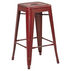 The Streamline stool is an industrial-style bar stool made from Galvanized steel and incorporates a footrest to ensure comfort for extended sitting, as does the wide seat. Streamline stacking stool is the perfect height for cafe counters, home, office. 24 Inch Bar Stools, Metal Counter Stools, Swivel Bar Stools, Bar Chairs, Salon Chairs, Ikea Chairs, Bar Tables, High Chairs, Bar Counter