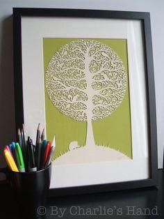 Papercut Tree