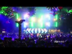 FOH View - Carl Cox Tent at Ultra Music Festival 2011