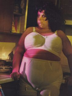 Divine​ (as Francine Fishpaw) in John Waters' Polyester, 1981