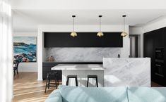 Beautiful Elba is one of the most sought after stones the Artedomus range. Coveted for its cool grey tones with soft brown markings, Elba was introduced… Black Kitchens, Home Kitchens, Kitchen Worktop, Island Kitchen, Kitchen Reno, Kitchen Ideas, Wren Kitchen, Stone Bench, Kitchen Benches