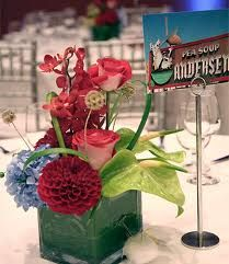 modern square vase centerpieces - Google Search