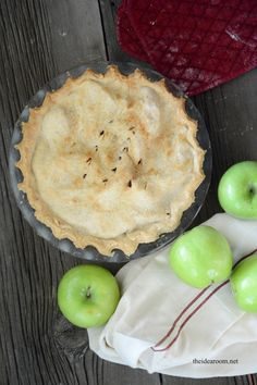 Apple Pie Recipe - The Idea Room